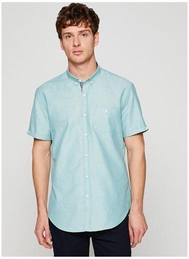 Koton Koton Slim Fit Yeşil Gömlek Yeşil